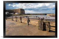 Staithes North Yorkshire, Framed Print