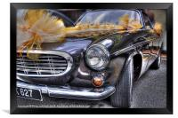 Wedding car, Framed Print