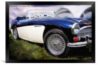 Austin Healey, Framed Print