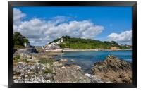 Looking towards East Looe and The Banjo Pier, Framed Print