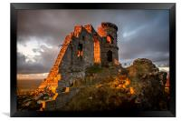 Mow Cop, Framed Print