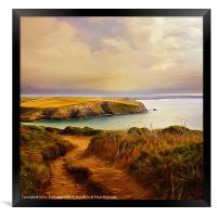 the way, Framed Print