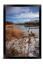 Waters Edge Country Park Barton upon Humber , Framed Print