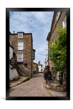Bunkers Hill, St Ives, Cornwall, Framed Print