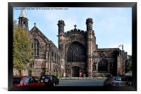 Art work of Chester Cathedral, Framed Print
