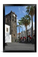 Funchal, the capital of Madeira, Framed Print