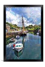 The Inner Amlwych Harbour, Framed Print