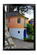 Portmeirion, North Wales, Framed Print