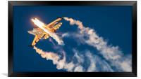 Flarey Good F16, Framed Print