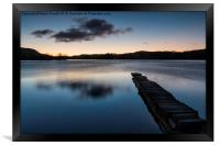 Loch Ard at Dawn, Framed Print