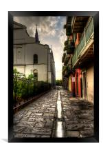 Pirate Alley, Framed Print