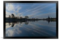 Lichfield Cathedral And The Stowe Pool, Framed Print