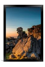 Golden Staple Tor, Framed Print