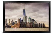 Freedom Tower, Framed Print