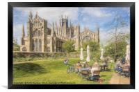 Ely Cathedral from the East, Framed Print