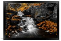 Autumn Colurs at Lumsdale, Framed Print