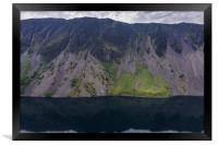 The Screes, Framed Print