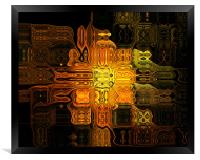 The Midas Touch, Framed Print