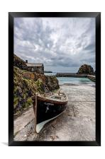 Mullion Cove and Harbour 2, Framed Print