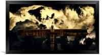 The Angel of the North, Framed Print