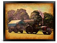 Bygone Years, Framed Print