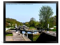 Grand Union Canal, Framed Print