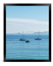Boats in the Bay, St Ives, Framed Print
