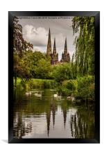 Lichfield Cathedral, Framed Print