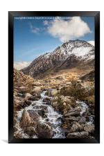 All Paths Lead to Tryfan, Framed Print