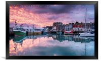 Sunrise at Padstow, Framed Print