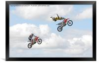 Catch me if you can, Framed Print