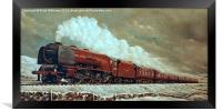 46228 Duchess of Rutland  , Framed Print