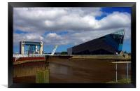 Tidal Barrier and the Deep, Framed Print