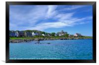 Iona Abbey, Isle of Iona, Inner Hebrides, Framed Print