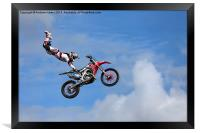 Bolddog Lings FMX Display Team, Framed Print