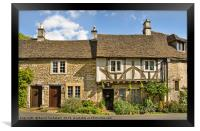 The Old Court House, Castle Combe village, England, Framed Print