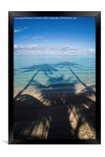 Palm Trees In Paradise, Framed Print