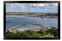 View over Marazion, Framed Print