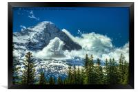 North Face of The Eiger, Framed Print