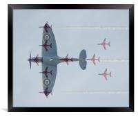 The Old and New of the RAF, Framed Print