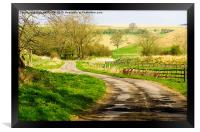 Thixendale Road, Framed Print