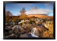 Stob Dearg in Autumn, Framed Print