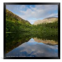 The Torren Lochan, Framed Print