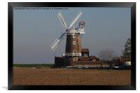 Cley Windmill north Norfolk , Framed Print