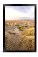 Holkham view from the dunes, Framed Print