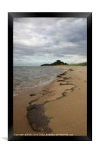 Patterns at East Hills, Wells next the Sea, Framed Print