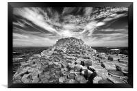 The Giant's Causeway, Framed Print