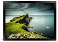 40 Seconds at Neist Point, Framed Print