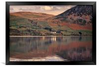 """""""Reflections at Ennerdale water 2"""", Framed Print"""