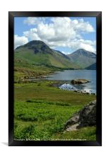 """""""Wastwater in the sun"""", Framed Print"""